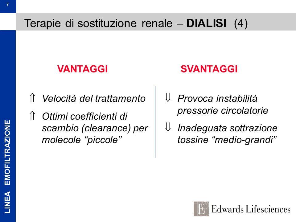 Terapie di sostituzione renale – DIALISI (4)