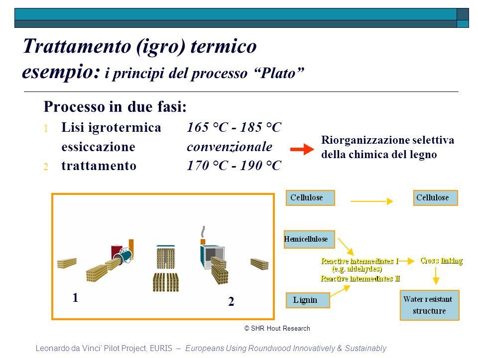 Trattamento (igro) termico esempio: i principi del processo Plato