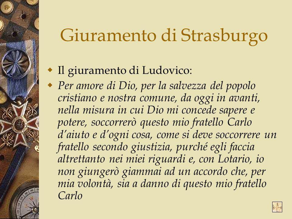 Giuramento di Strasburgo