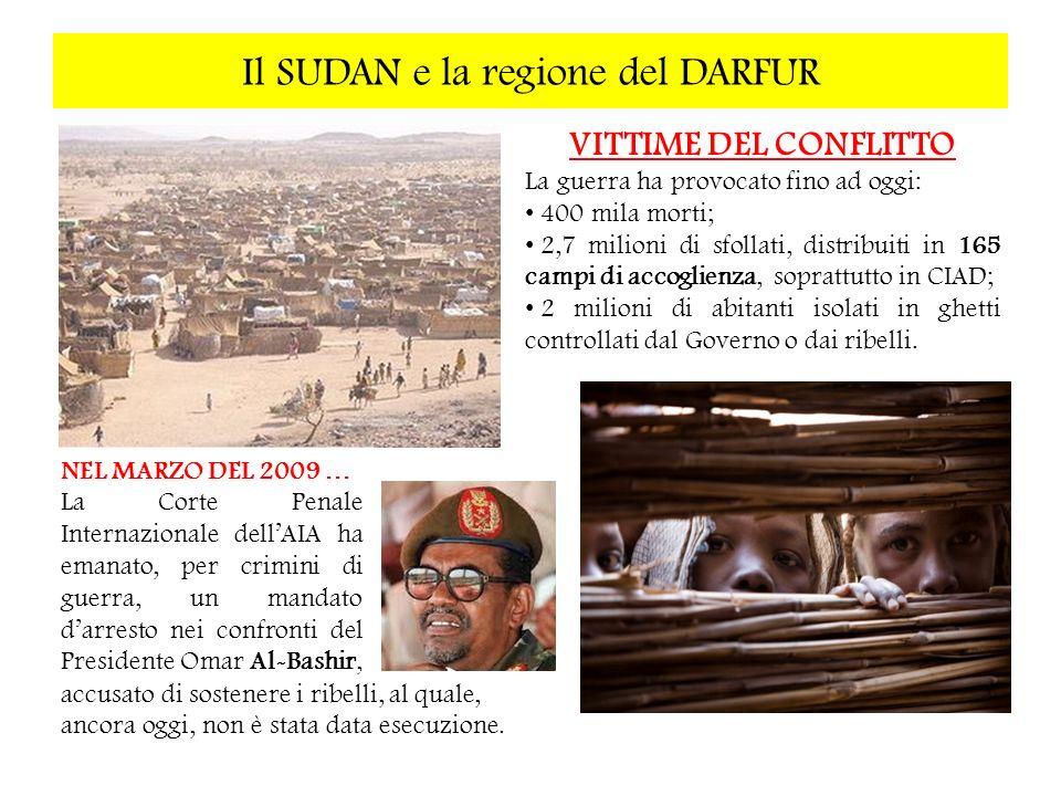 Il SUDAN e la regione del DARFUR