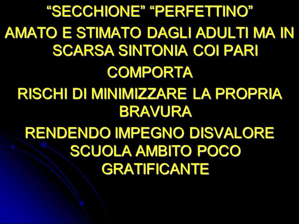 SECCHIONE PERFETTINO