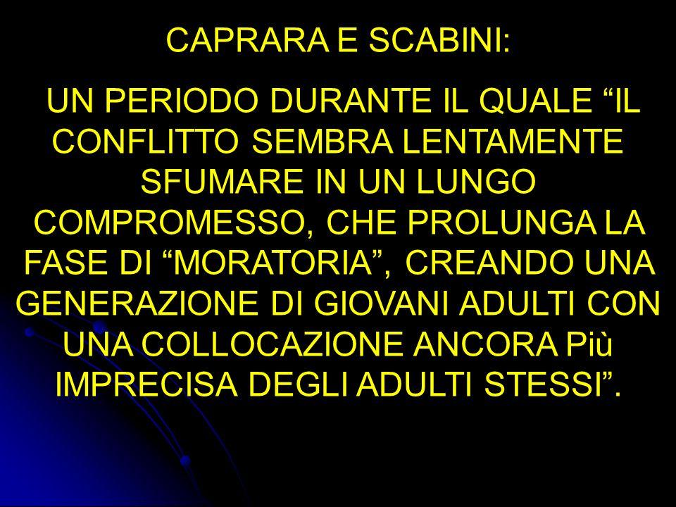 CAPRARA E SCABINI: