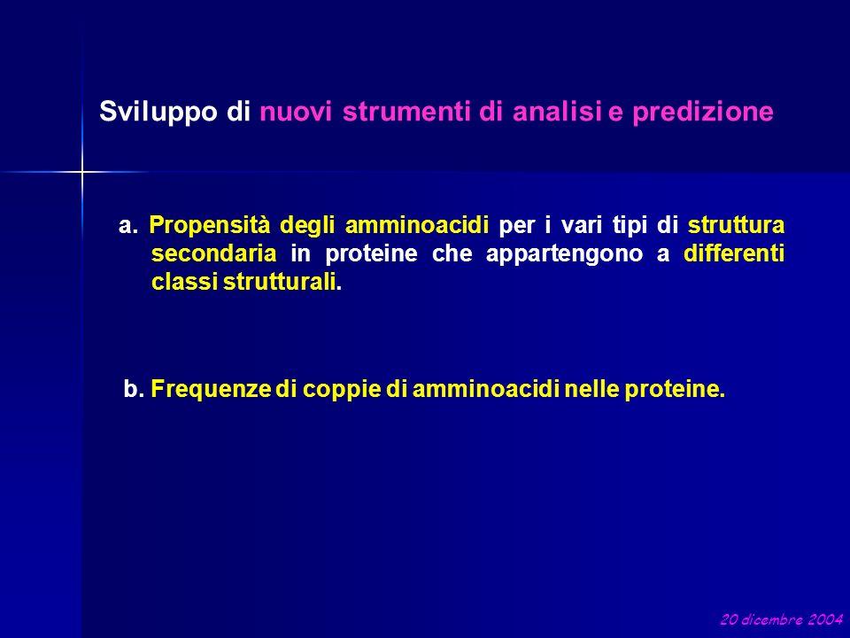 Sviluppo di nuovi strumenti di analisi e predizione