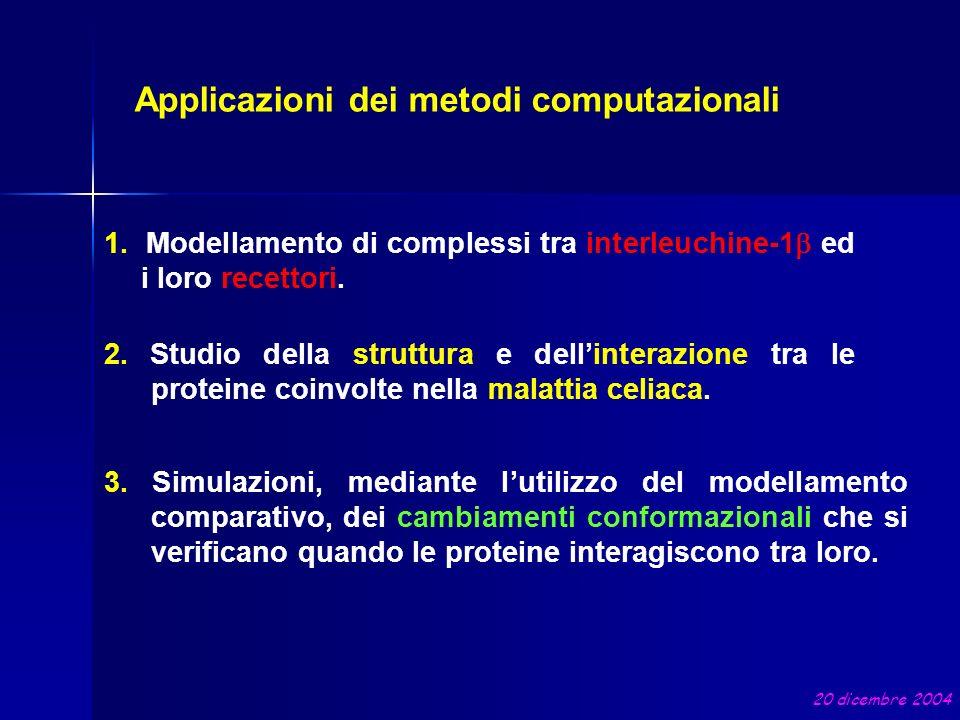Applicazioni dei metodi computazionali
