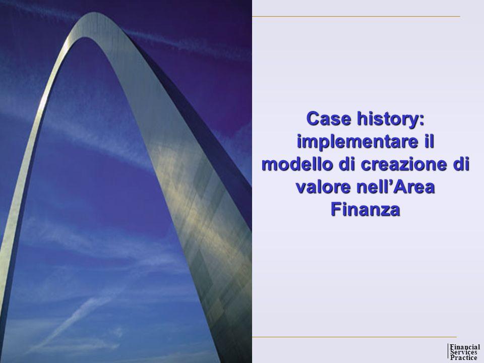 implementare il modello di creazione di valore nell'Area Finanza