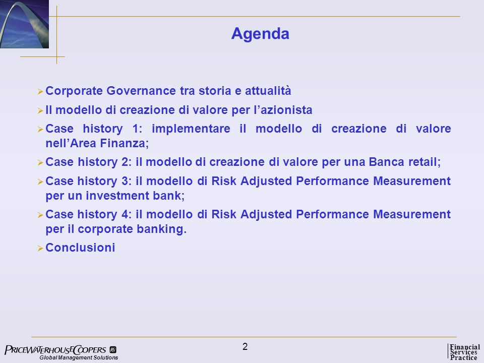 Agenda Corporate Governance tra storia e attualità