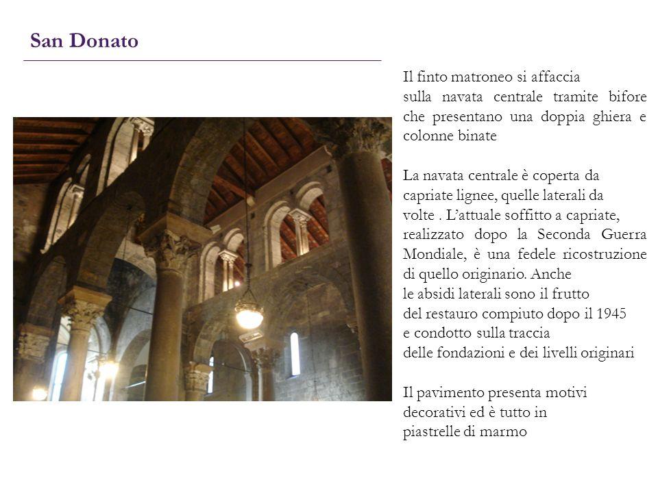 San Donato Il finto matroneo si affaccia