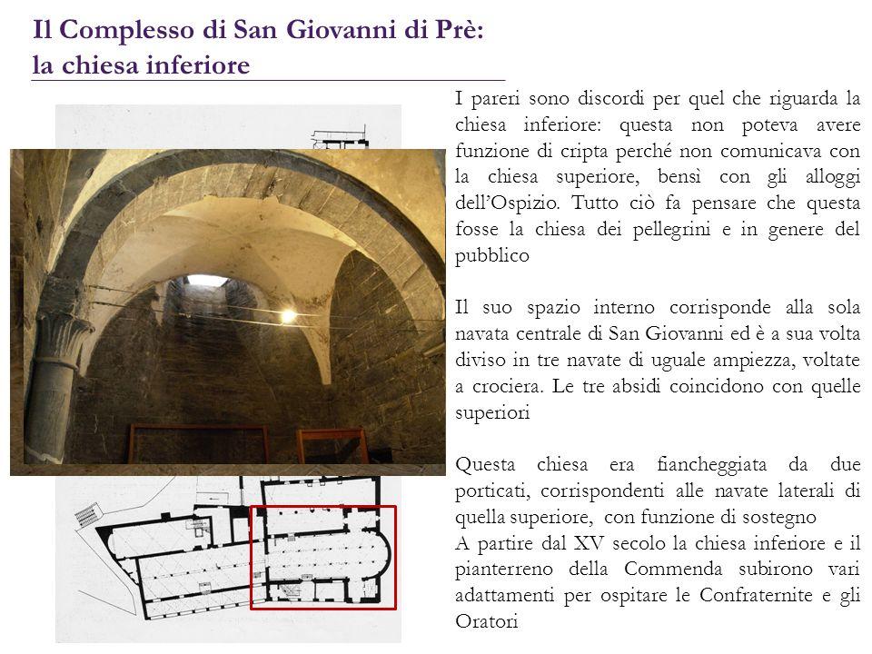 Il Complesso di San Giovanni di Prè: la chiesa inferiore
