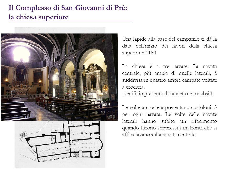 Il Complesso di San Giovanni di Prè: la chiesa superiore