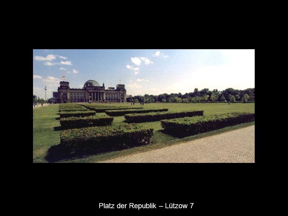 Platz der Republik – Lützow 7