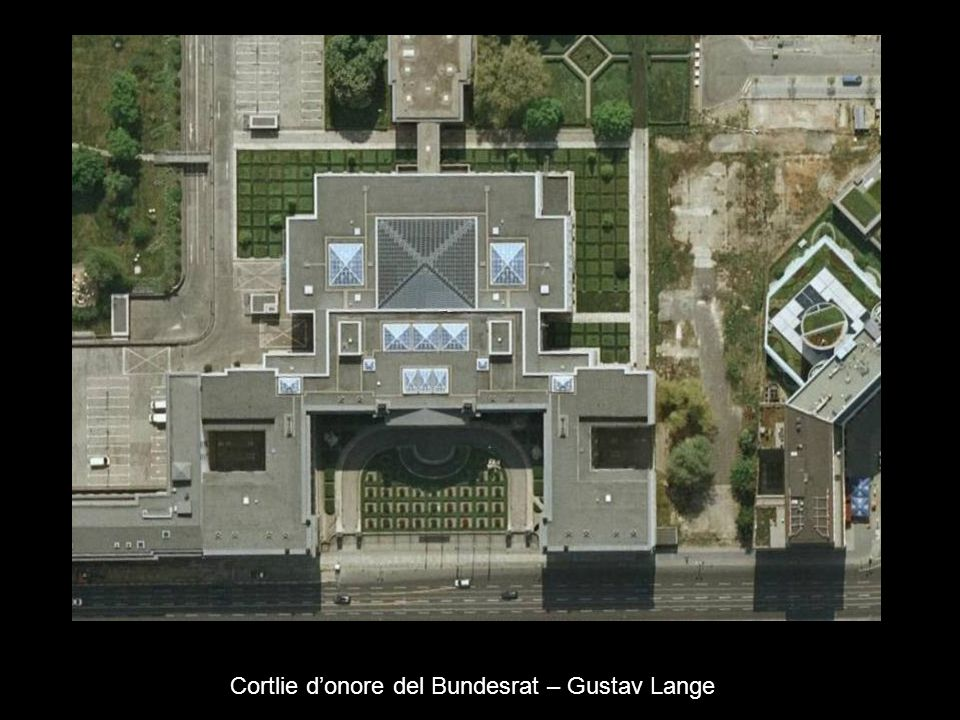 Cortlie d'onore del Bundesrat – Gustav Lange