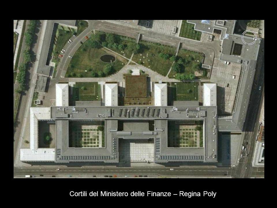 Cortili del Ministero delle Finanze – Regina Poly