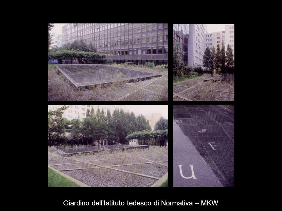 Giardino dell'Istituto tedesco di Normativa – MKW