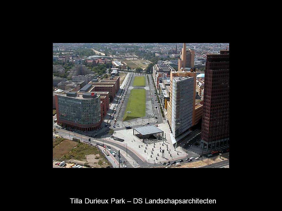 Tilla Durieux Park – DS Landschapsarchitecten