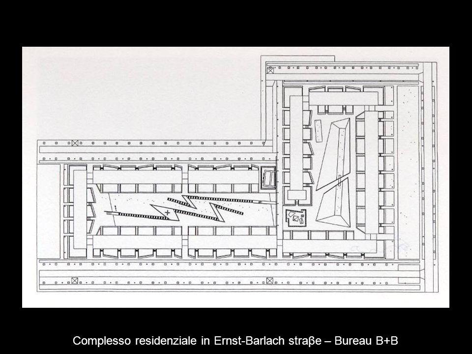 Complesso residenziale in Ernst-Barlach straβe – Bureau B+B