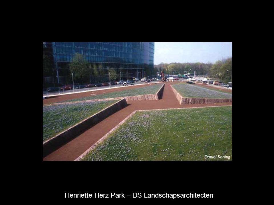 Henriette Herz Park – DS Landschapsarchitecten