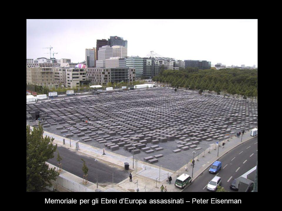 Memoriale per gli Ebrei d'Europa assassinati – Peter Eisenman