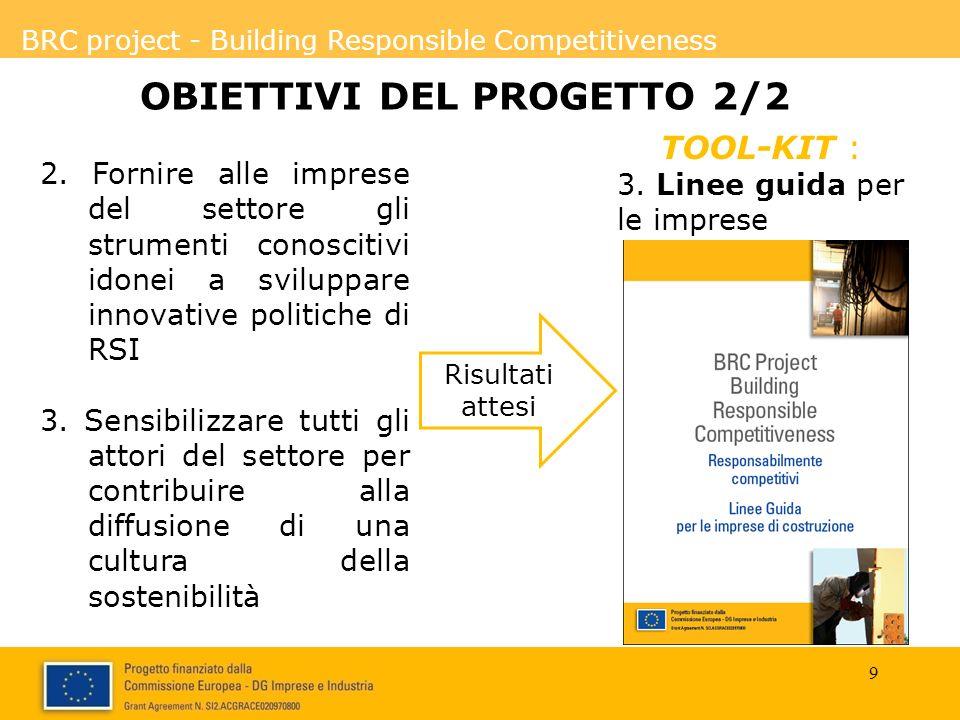 OBIETTIVI DEL PROGETTO 2/2
