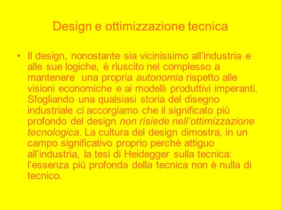 Design e ottimizzazione tecnica