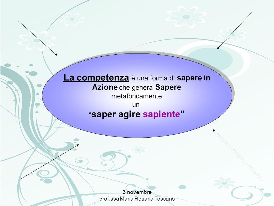 La competenza è una forma di sapere in