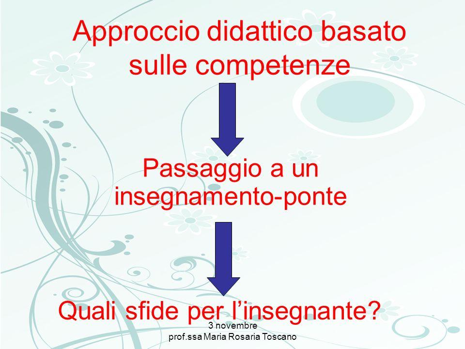 Approccio didattico basato sulle competenze