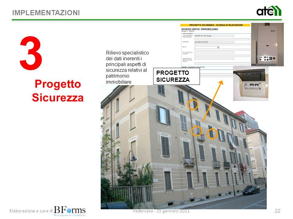 3 Progetto Sicurezza IMPLEMENTAZIONI PROGETTO SICUREZZA