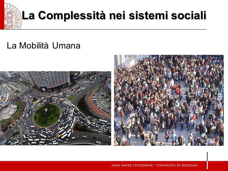 La Complessità nei sistemi sociali