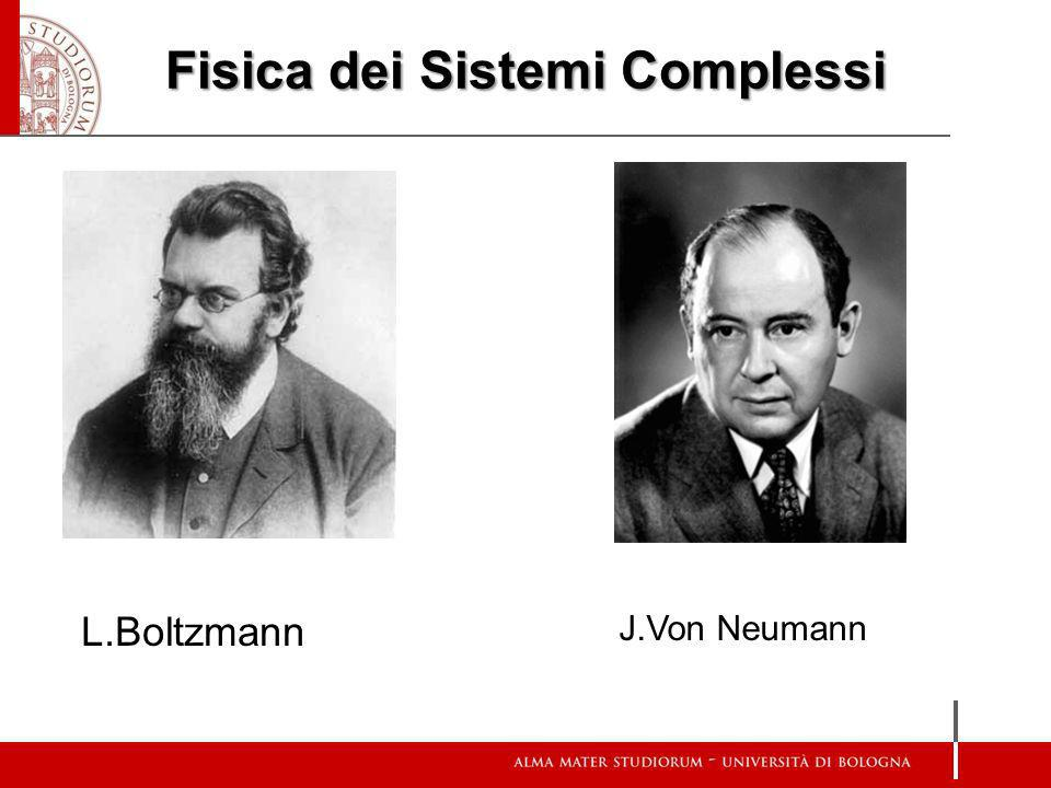 Fisica dei Sistemi Complessi