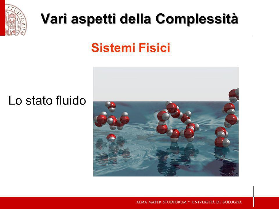 Vari aspetti della Complessità