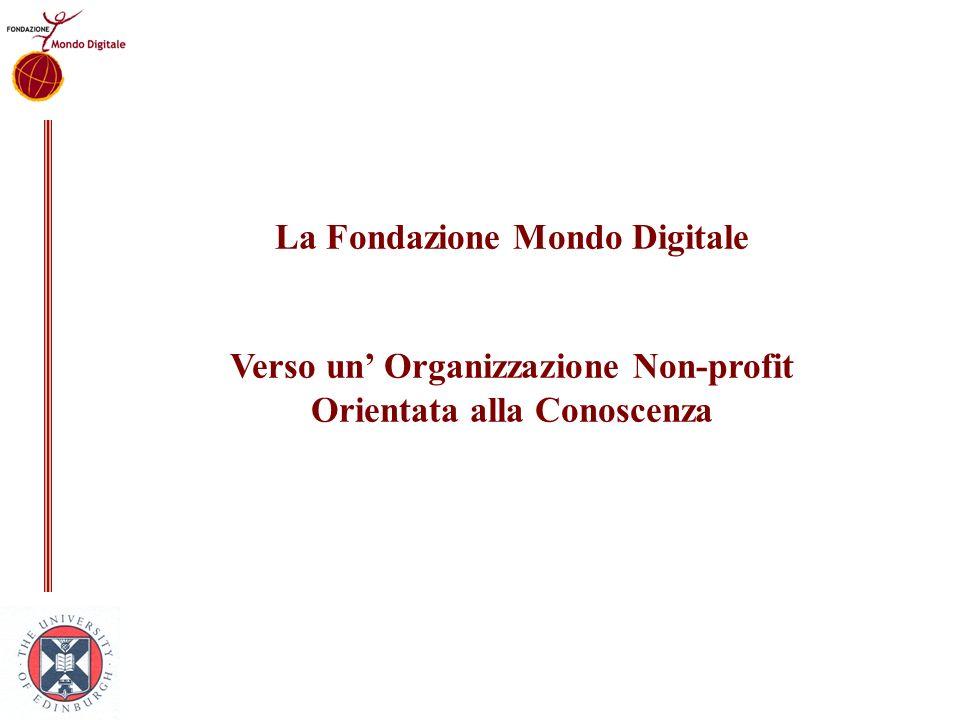 La Fondazione Mondo Digitale