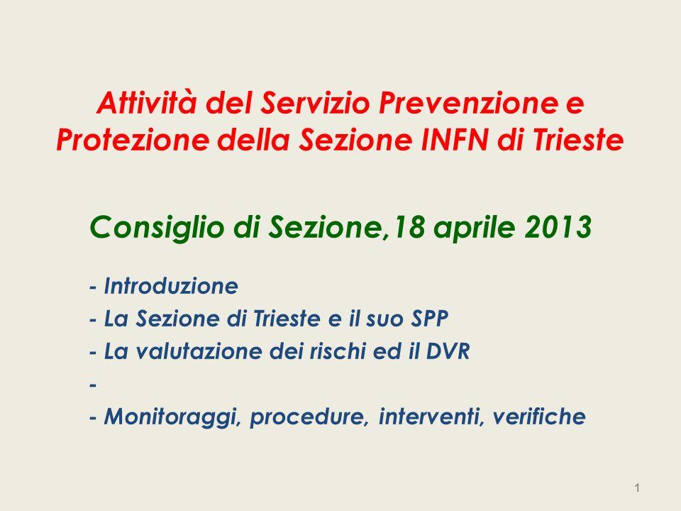 Consiglio di Sezione,18 aprile 2013
