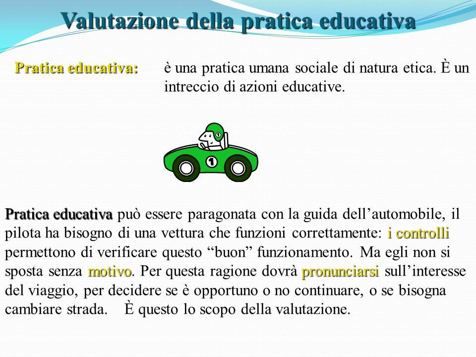 Valutazione della pratica educativa