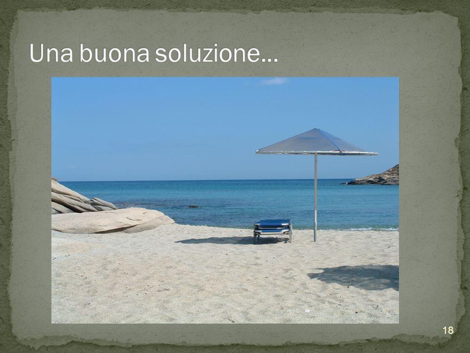 Una buona soluzione...