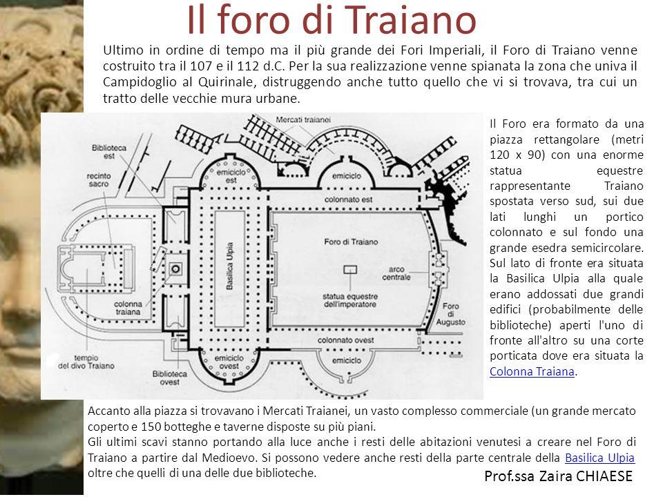 Il foro di Traiano