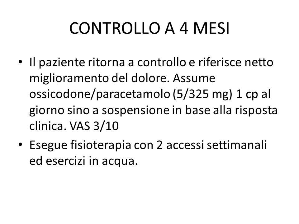 CONTROLLO A 4 MESI