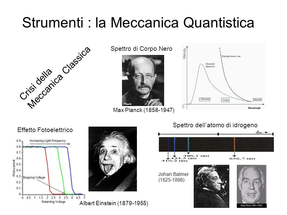Strumenti : la Meccanica Quantistica