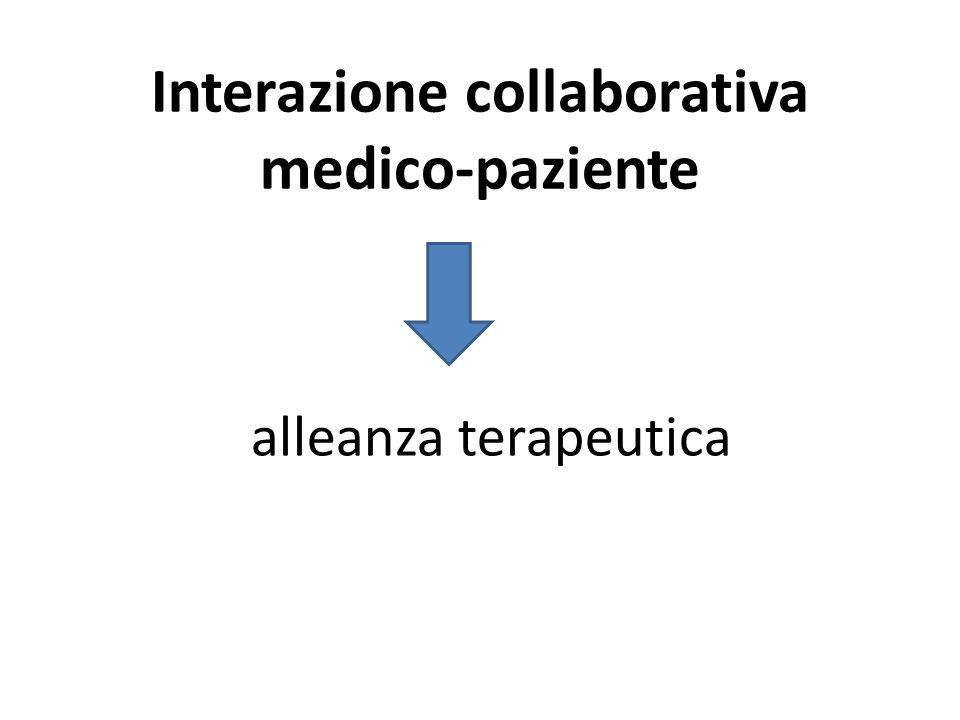 Interazione collaborativa medico-paziente