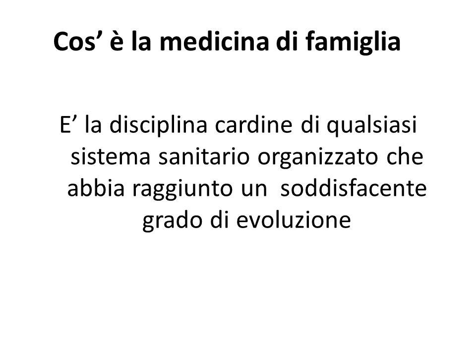 Cos' è la medicina di famiglia