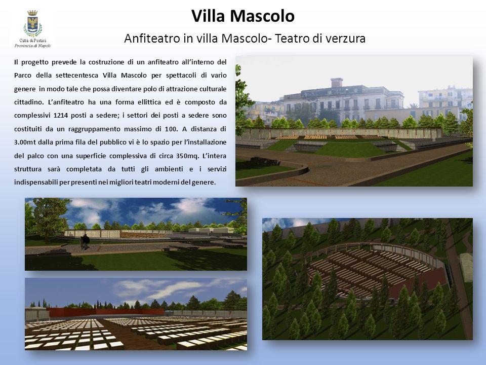 Villa Mascolo Anfiteatro in villa Mascolo- Teatro di verzura