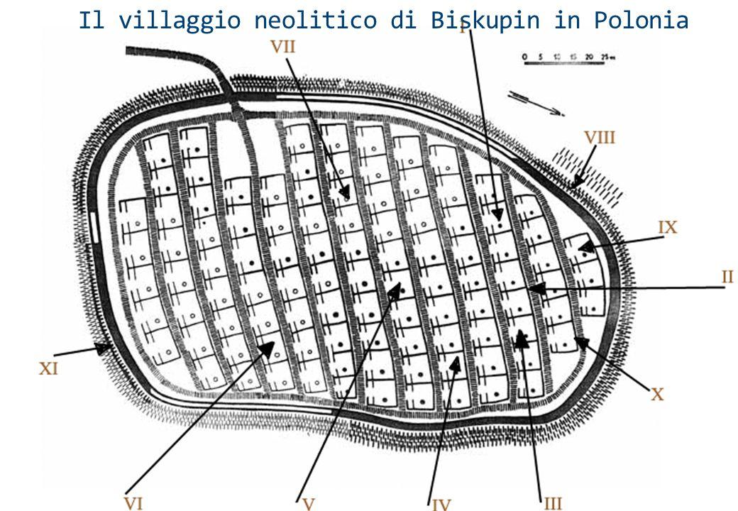 Il villaggio neolitico di Biskupin in Polonia