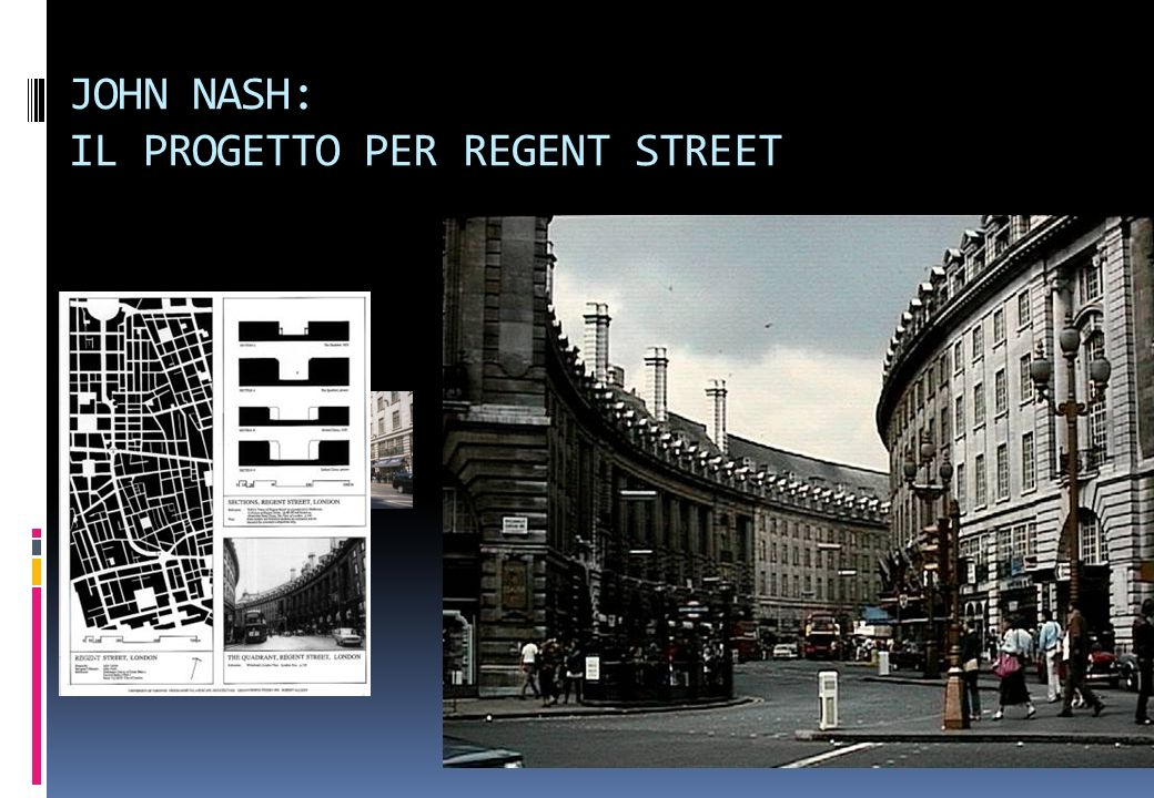 JOHN NASH: IL PROGETTO PER REGENT STREET