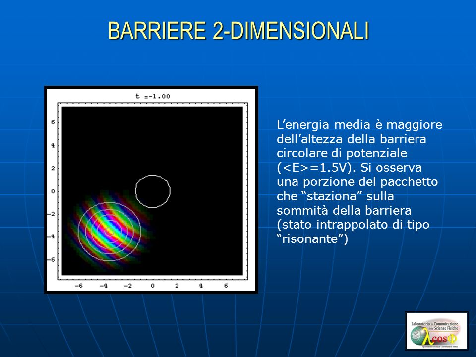 BARRIERE 2-DIMENSIONALI