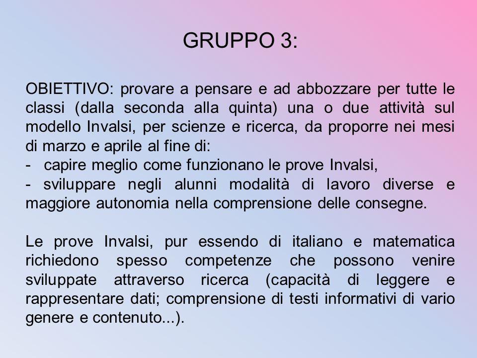 GRUPPO 3: