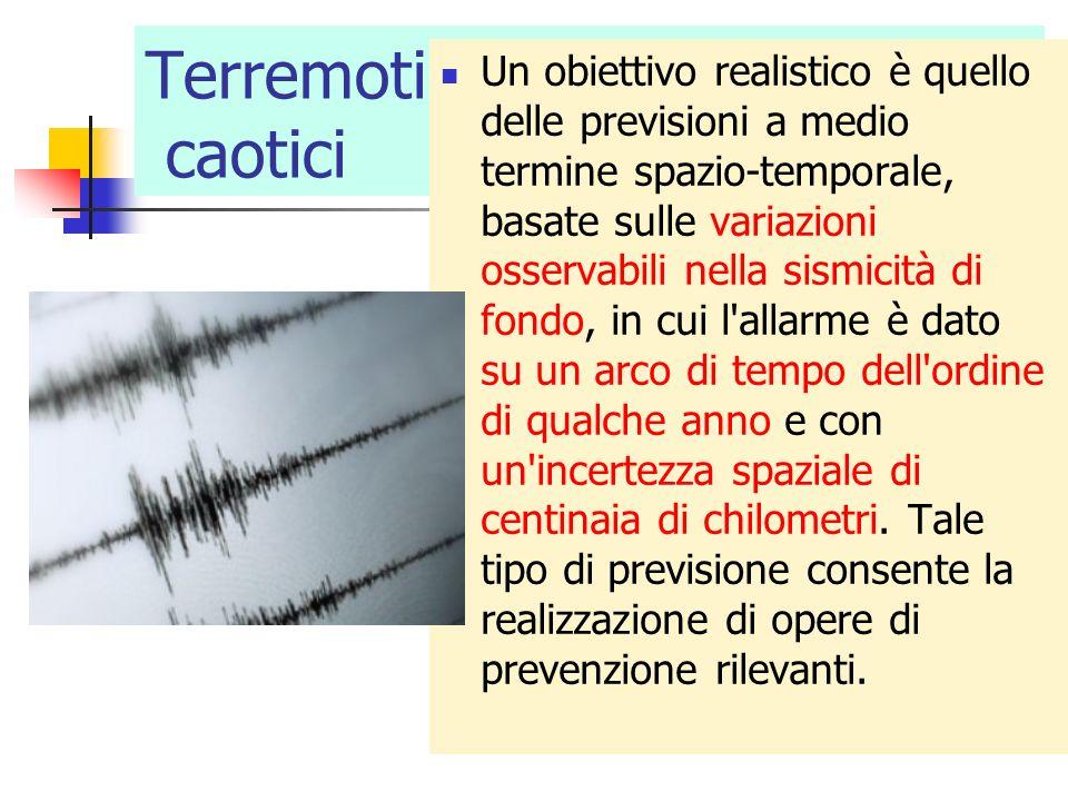 Terremoti caotici