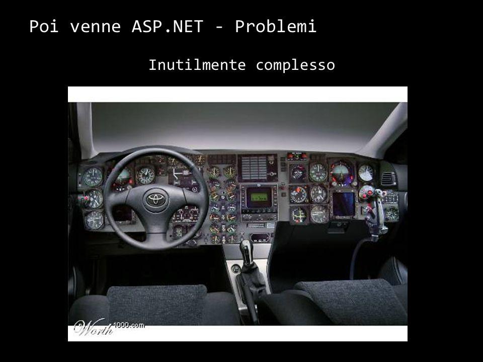 Poi venne ASP.NET – Soluzione ai Problemi