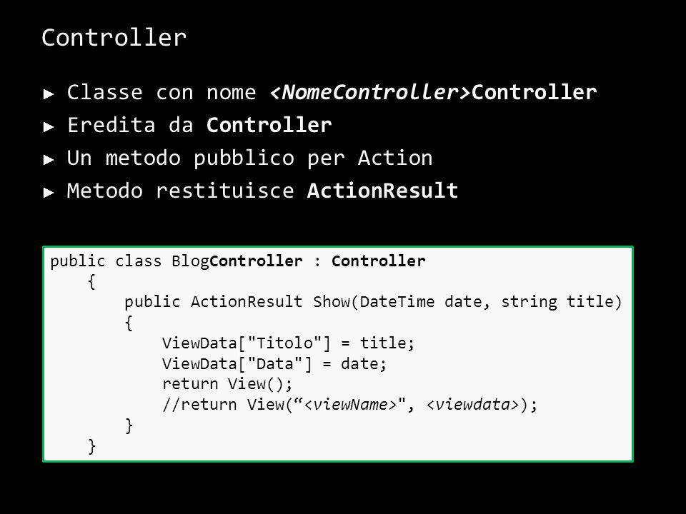 DEVE SOLO costruire la UI HTML