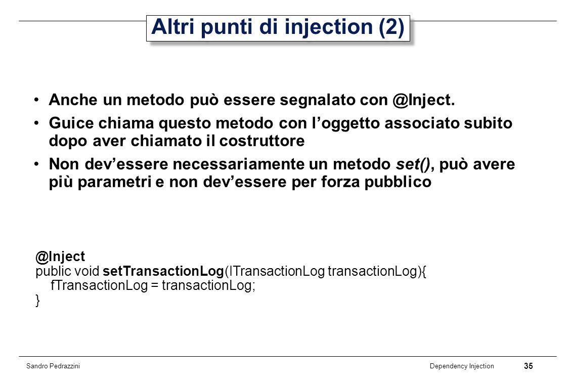 Altri punti di injection (2)