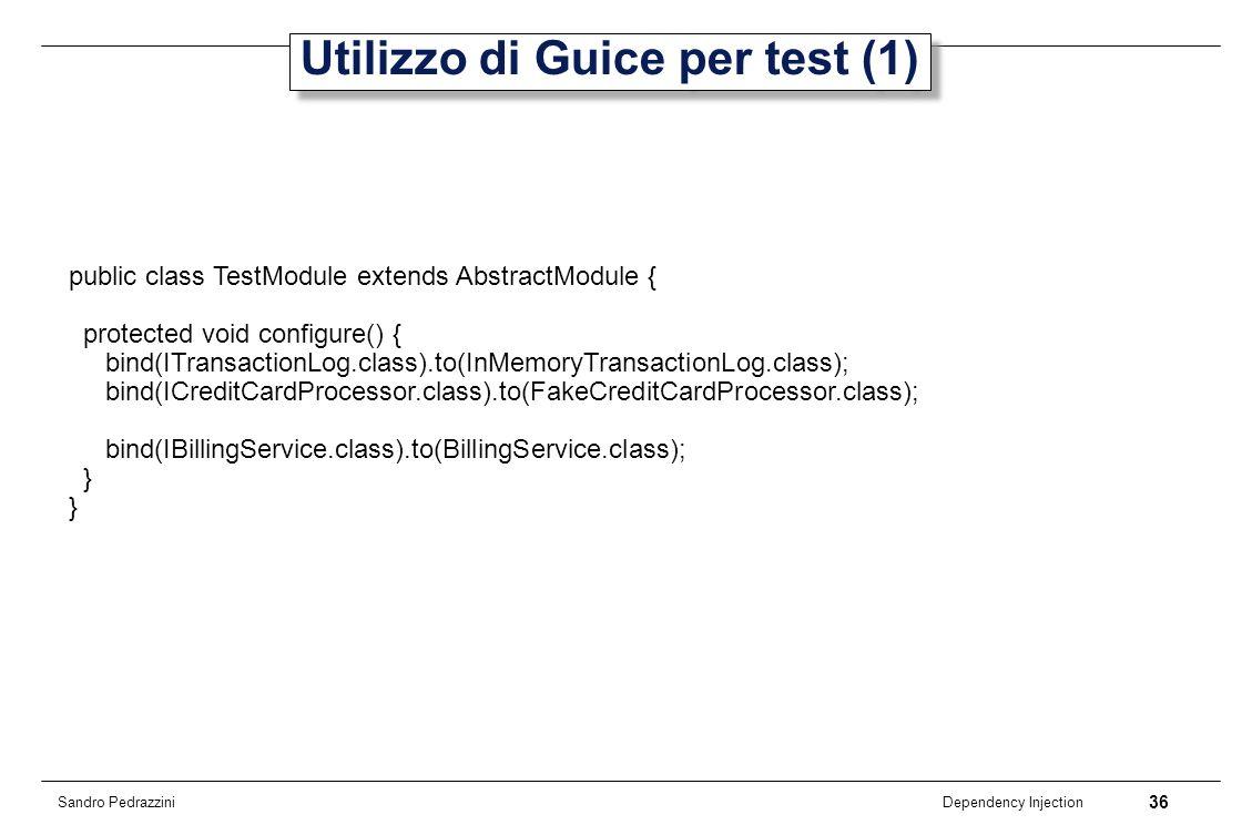 Utilizzo di Guice per test (1)