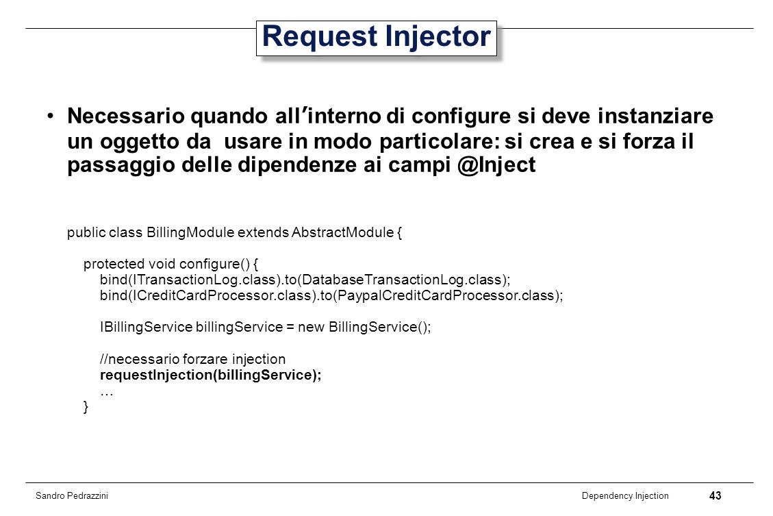 Request Injector