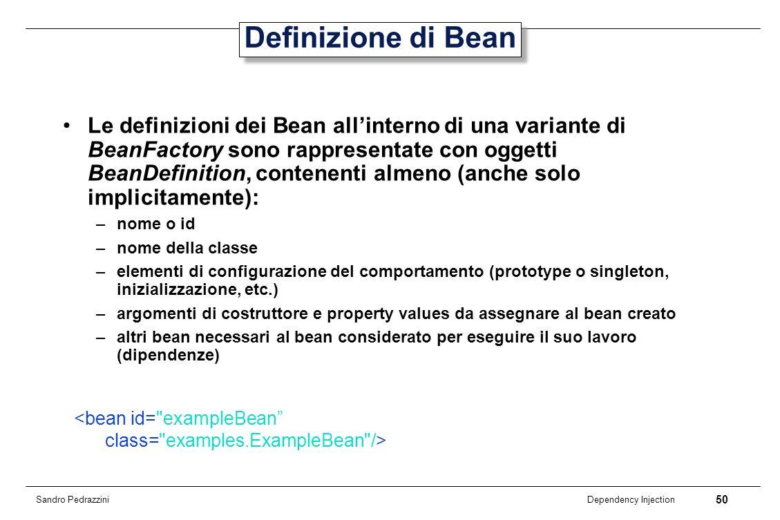 Definizione di Bean